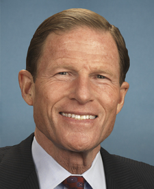 Sen. Richard Blumenthal's' portrait.