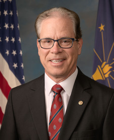 Sen. Mike Braun's' portrait.