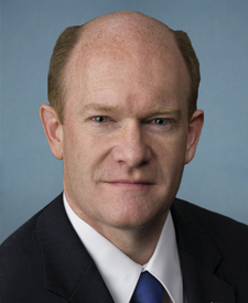 Sen. Christopher Coons's' portrait.