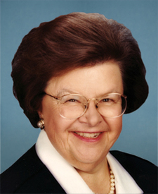Sen. Barbara Mikulski Photo
