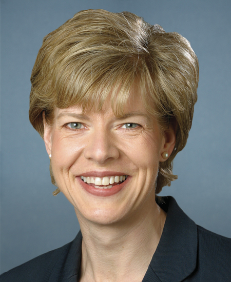 Photo of Sen. Tammy Baldwin