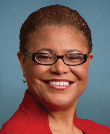 Photo of Rep.  Karen Bass