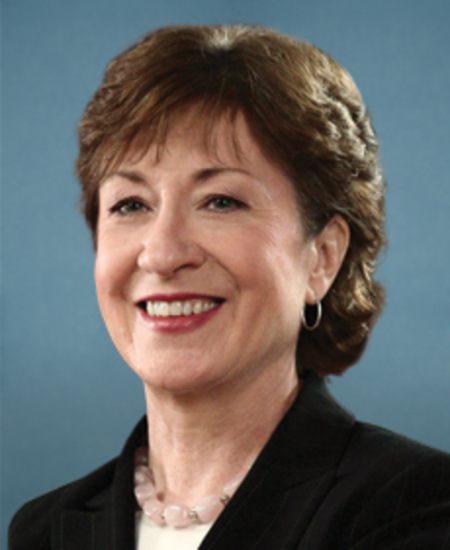 Photo of Sen. Susan Collins