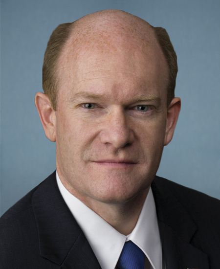 Photo of Sen. Christopher Coons
