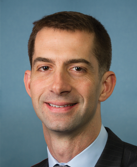 Photo of Sen. Thomas Cotton