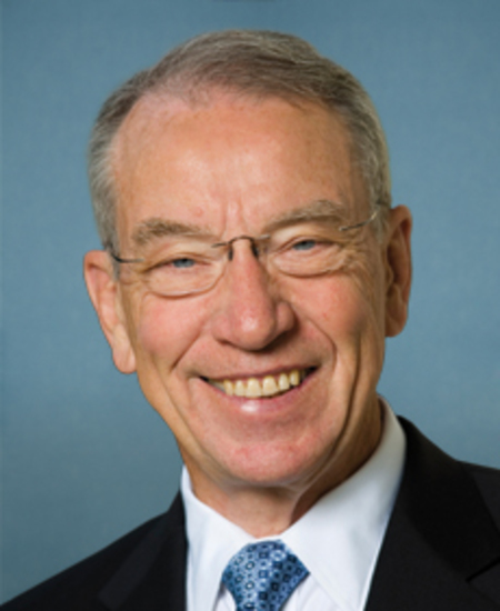 Photo of Sen. Chuck Grassley