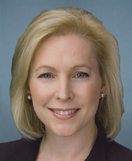 Photo of Sen. Kirsten Gillibrand