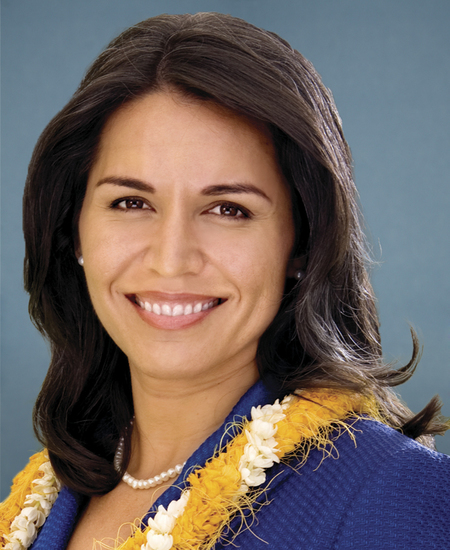 Photo of Rep.  Tulsi Gabbard