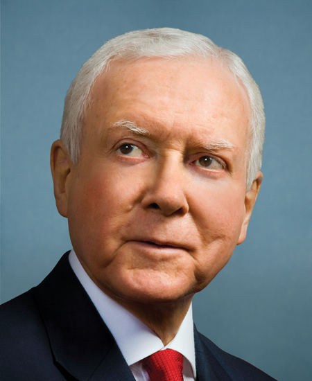 Photo of Sen. Orrin Hatch