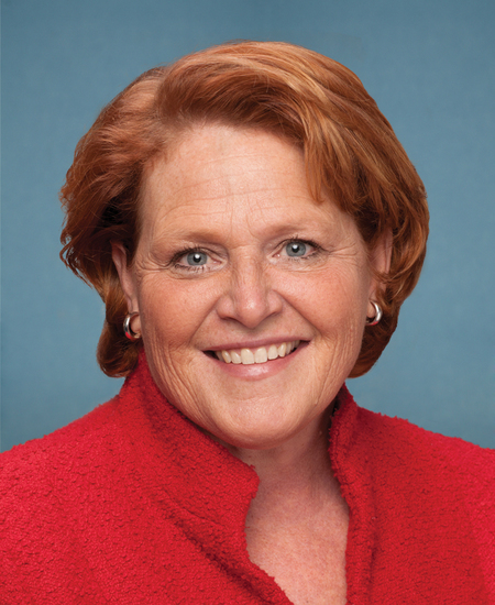 Photo of Sen. Heidi Heitkamp