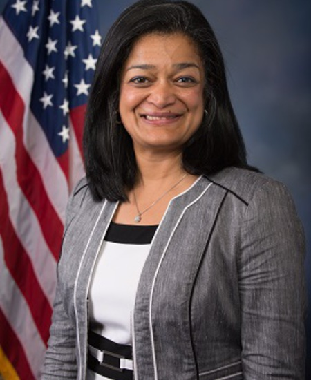 Photo of Rep.  Pramila Jayapal