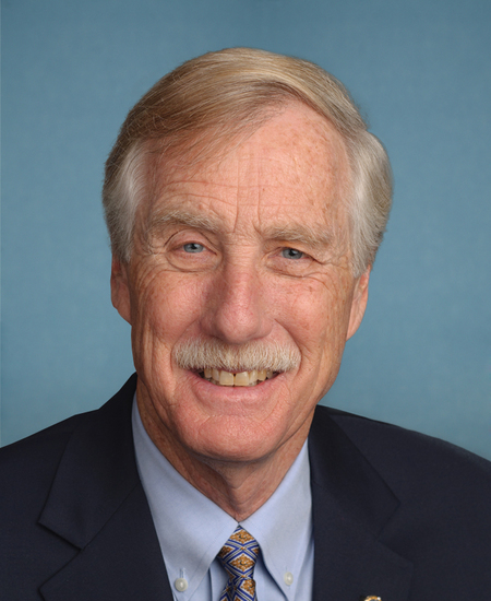 Photo of Sen. Angus King