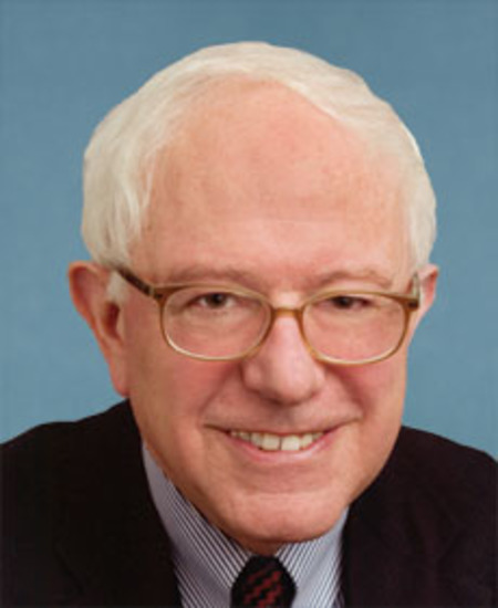 Photo of Sen. Bernard Sanders