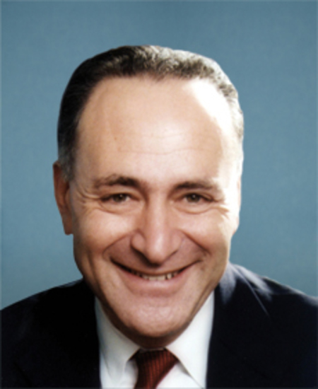 Photo of Sen. Charles Schumer