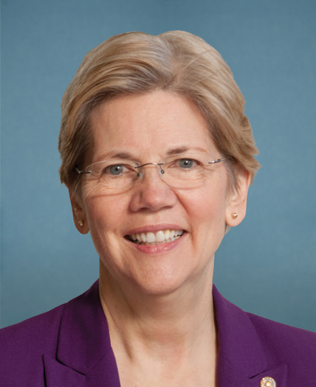 Photo of Sen. Elizabeth Warren